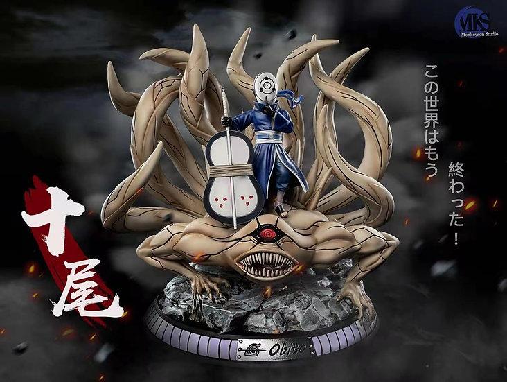 MonkeySon Studio - Naruto Uchiha Obito and Ten Tails
