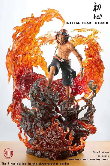 Initial Heart Studio - One Piece ACE