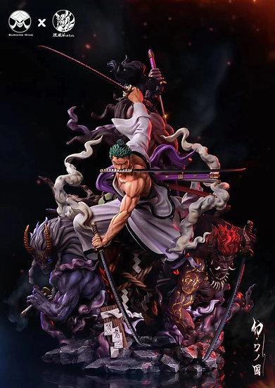 Burning Wind X Ventus One Piece Roronoa Zoro