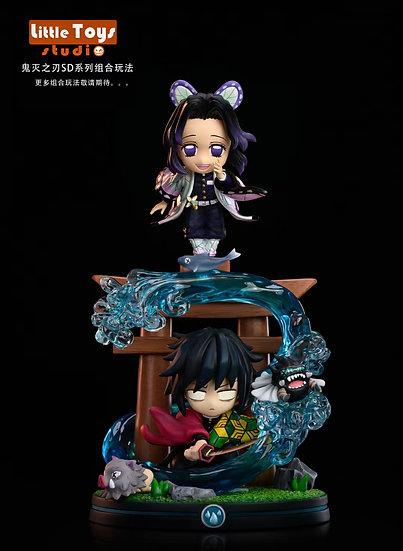 LT Studio Demon Slayer Pillar Series Tomioka Giyu & Kocho Shinobu