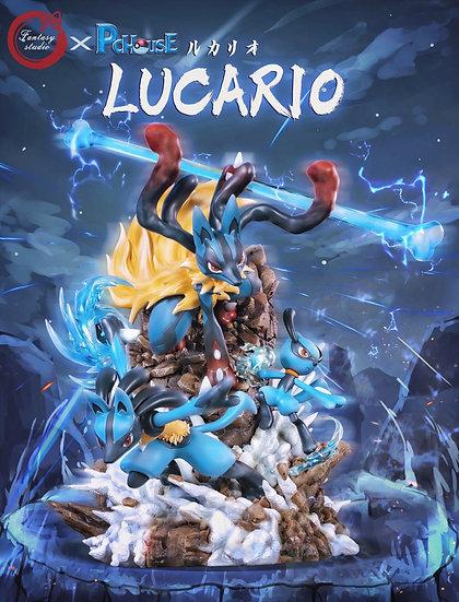 Fantasy House X PC Studio - Pokemon Mega Lucario Evolution& Pikachu Cosplay