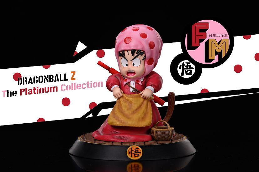 F.M. Studio - Dragon Ball Village Girl Teenager Goku