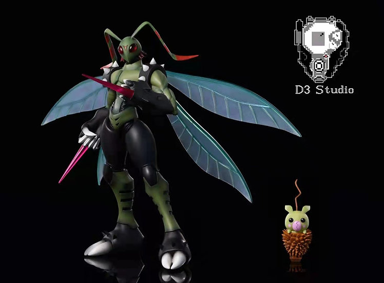 D3 Studio - Digimon Stingmon