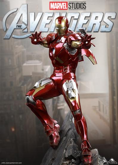 Queen Studios Iron man Mark 7