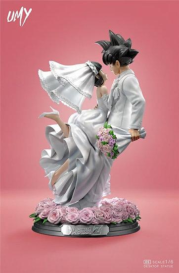 UMY Studio Son Goku & Chi Chi Wedding version