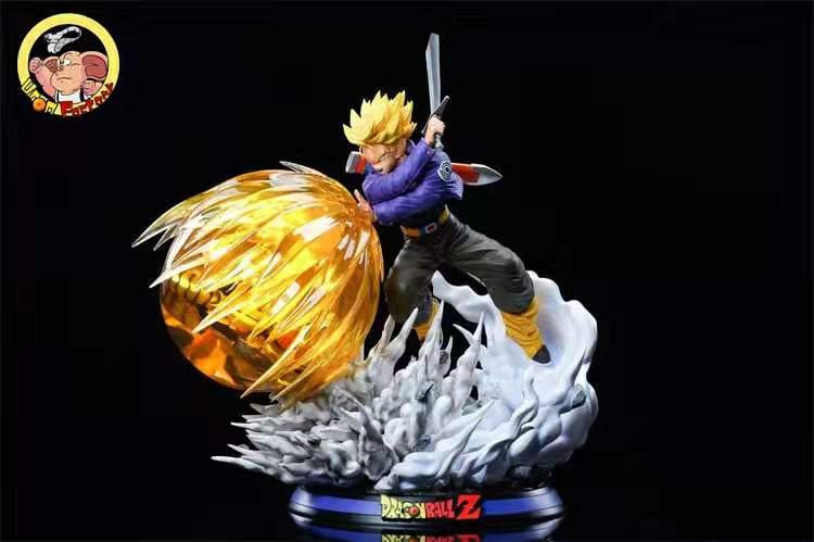 Oolong Studio Studio  - Dragon Ball Trunks vs Frieza