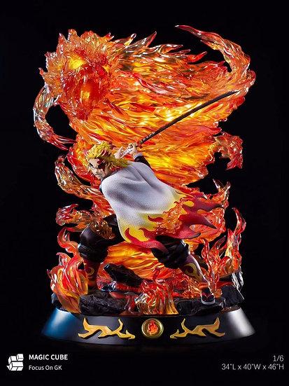 Magic Cube Studio - Demon Slayer Flame Pillar Rengoku Kyojuro
