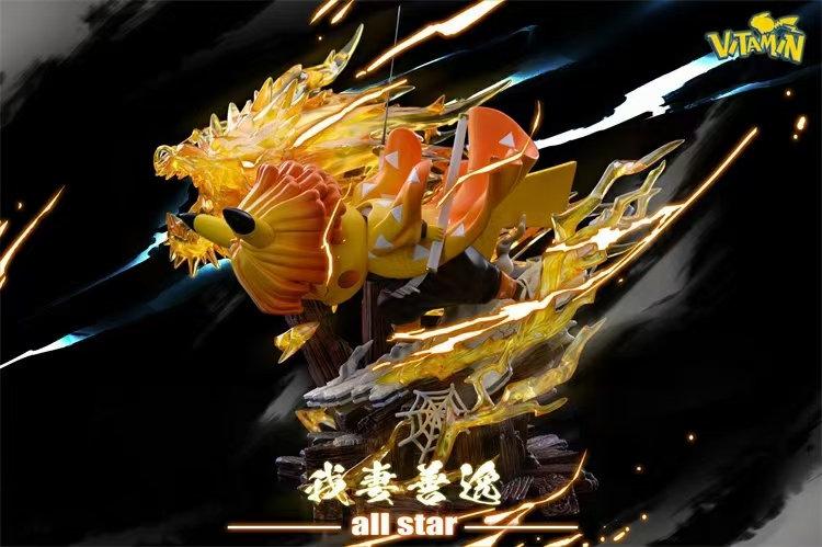 Vitamin Studio - Pokemon Pikachu cosplay Demon Slayer Agatsuma Zenitsu
