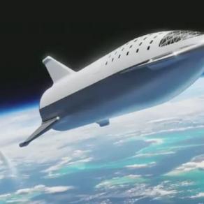 Elon Musk dévoile le design de la fusée SpaceX qui ira sur Mars