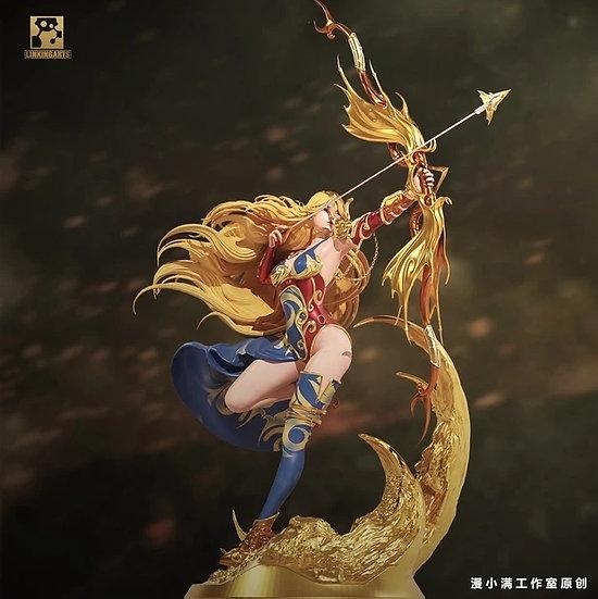 Linking Arts Studio - Ancient Wild Hunter Goddess