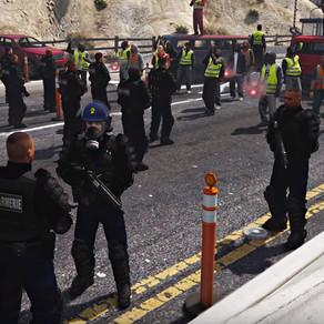 GTA : La manifestation des gilets jaunes a aussi eu lieu dans les jeux vidéo