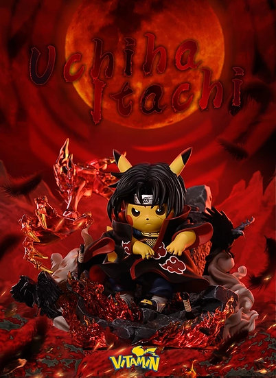 Vitamin Studio - Pokemon Pikachu cosplay Uchiha Itachi