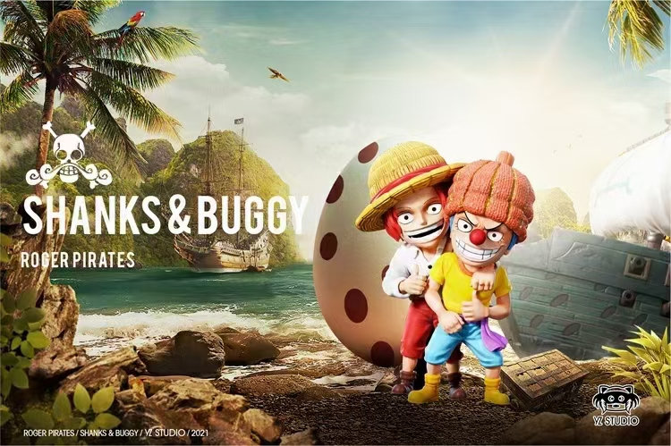 YZ Studio One Piece Roger Pirates Shanks And Buggy