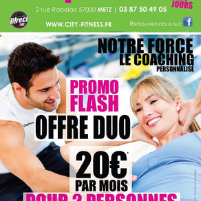 PROMO DUO • CityFitness