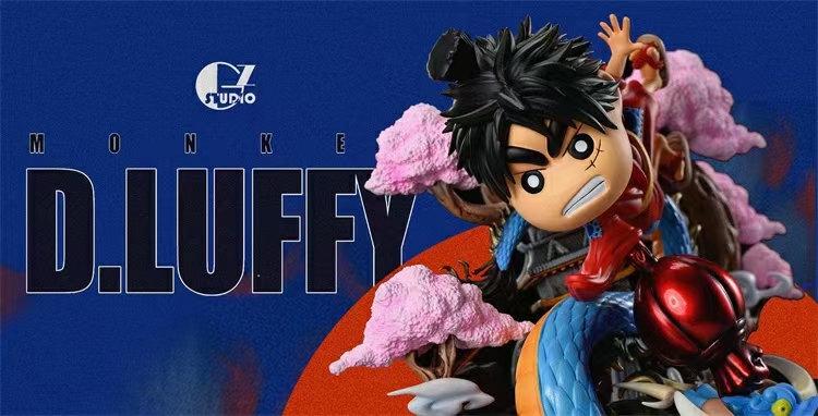 GZ Studio Crayon ShinCHan Cosplay One Piece Luffy