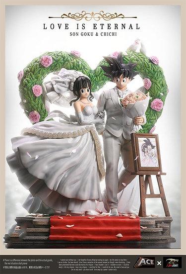 ACE X T-REX Studio - Dragon Ball Goku and ChiChi Wedding