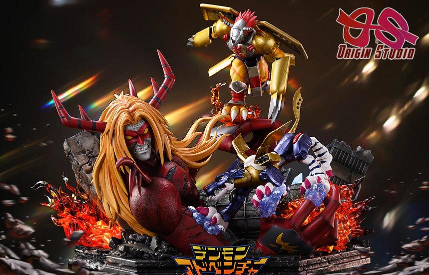 OS Studio - Digimon Venom Vamdemon vs Metal Wargreymon