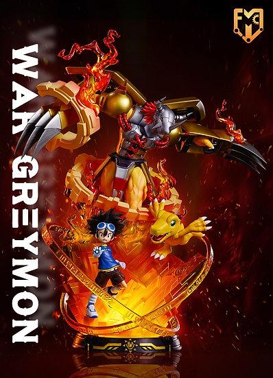 MFC Studio Digimon WarGreymon and Yagami Taichi