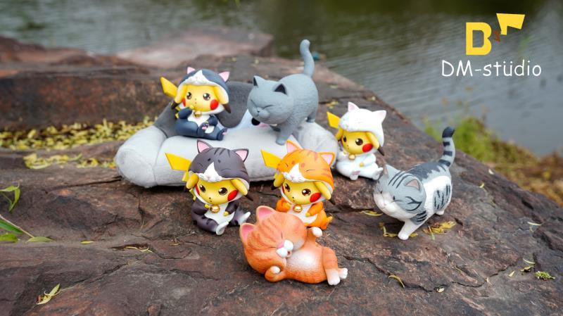 DM Studio Pokemon Pikachu cosplay in cat suit