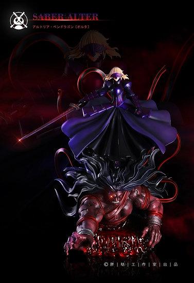 Pang Da Studio - Fate Grand Order Saber Alter Artoria X Berserker