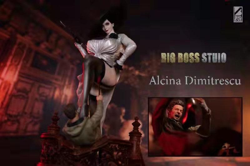 Big Boss Studio - Resident Evil Alcina Dimitrescu and Ethan