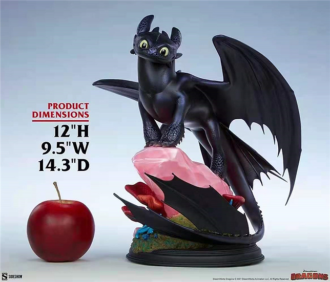 Sideshow Studio - How to Train Your Dragon – Night Fury Toothless