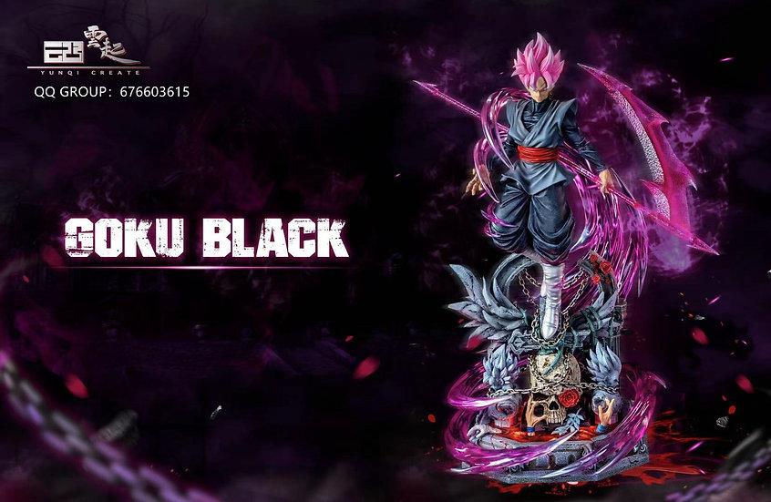 YunQI Studio Dragon Ball Super Saiyan Rose Goku Black