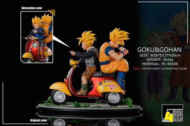 F4 Studio - Dragon Ball Son Goku & Gohan
