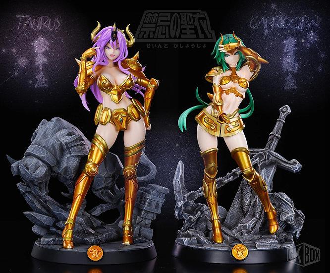 GK BoxStudio - Saint Seiya Gold Saint Taurus & Capricorn (Female)