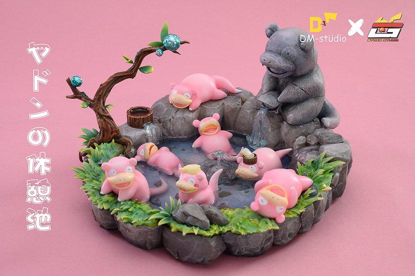 DM X Stone Fish - Pokemon Slowpoke