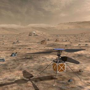 Un drone accompagnera Mars 2020 sur la planète rouge