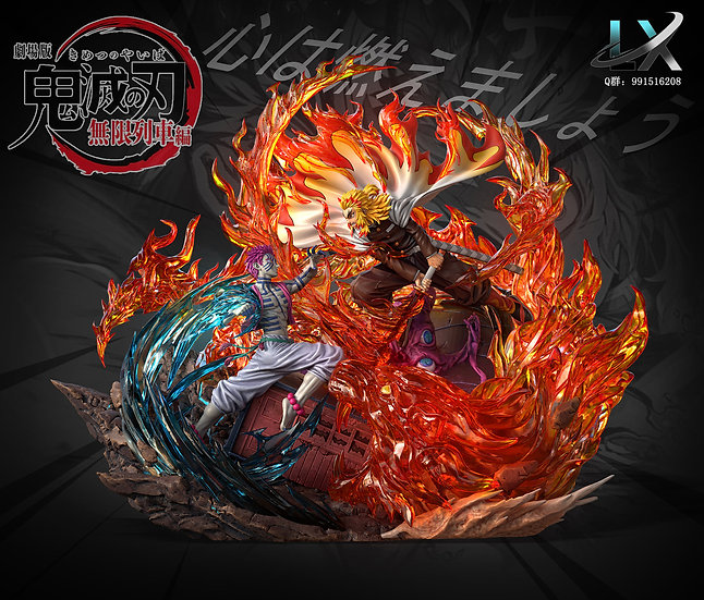 LX Studio Demon Slayer the Movie: Mugen Train  (Kyojuro Rengoku vs Akaza)