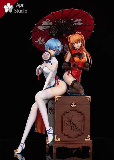 Apr Studio - Neon Genesis Evangelion Asuka And Rei (Ex Version)