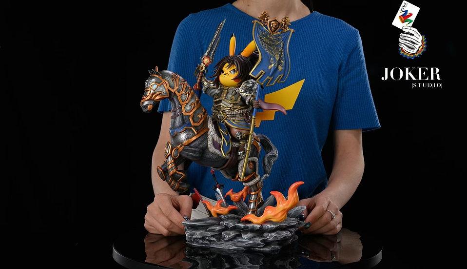 Joker & Peter.P Studio - Pikachu cosplay Varian Wrynn (World of Warcraft)