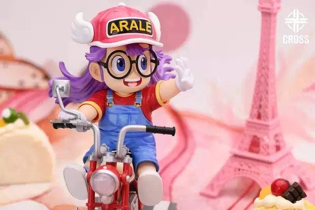 Cross Studio - Dr. Slump Arale Norimaki riding motorbike