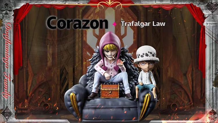 Warhead Studio One Piece Rosinante & Law