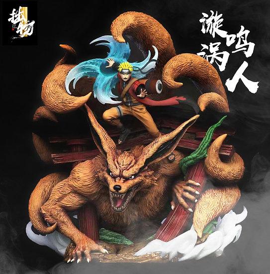 Zhuo Wu Studio - Naruto Uzumaki Naruto X Kurama