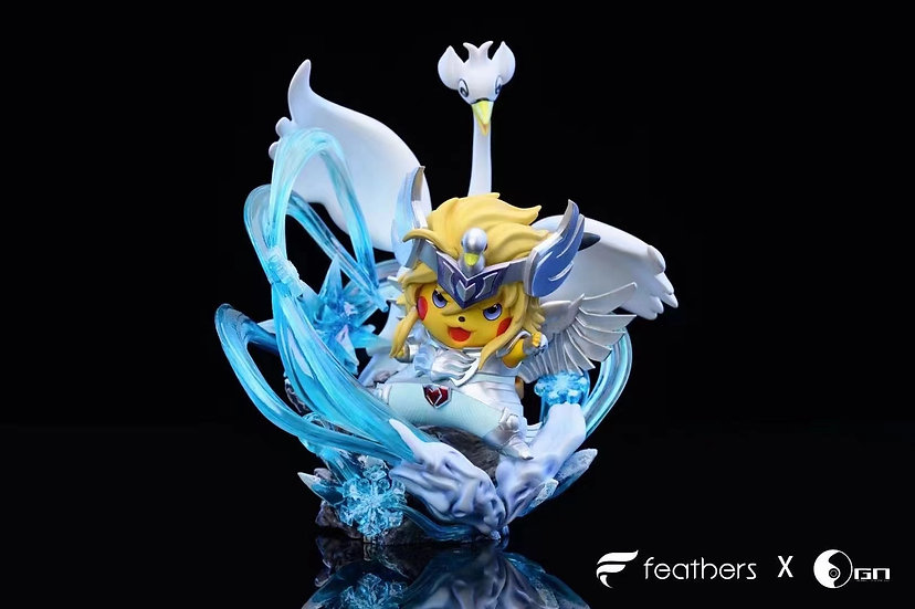 Feather X Genesis Studio - Pokemon Pikachu cosplay Saint Seiya Cygnus Hyoga