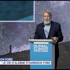 Le cri de colère de l'acteur Harrison Ford lors du sommet sur le changement climatique