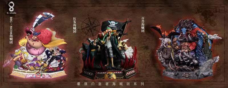 TC Studio - One Piece Red Hair Pirates