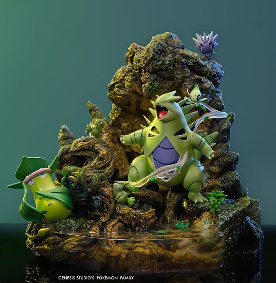 Genesis Studio Pokemon Tyranitar Family