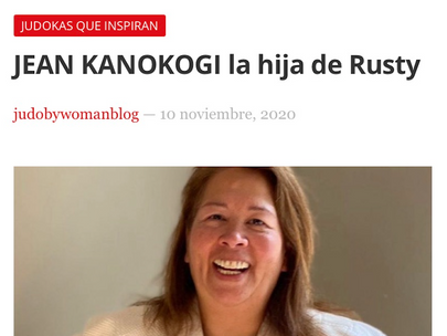 Jean Kanokogi Daughter Of Rusty Published in Madrid, Gracias Almundena Lopez