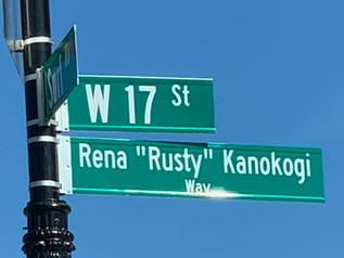 First Anniversary Celebration of Rusty Kanokogi Way - November 7th at 1:00 pm