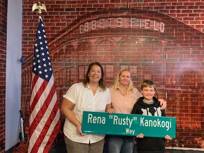"Rena ""Rusty"" Kanokogi Way Anniversary"