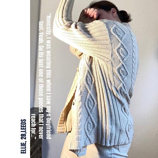 ST MICHAEL Aran Knit Cardigan