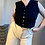Thumbnail: BETTY BARCLAY Wool Tricot Waistcoat