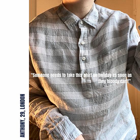ONIA Linen Blend Shirt