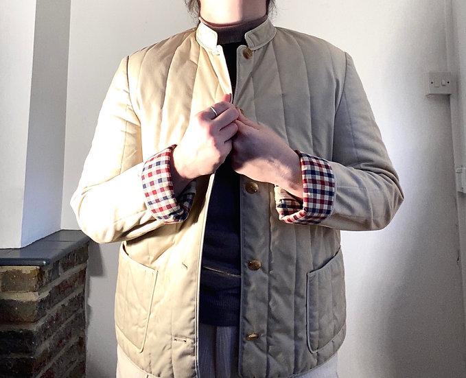 AQUASCUTUM Beige Quilted Jacket
