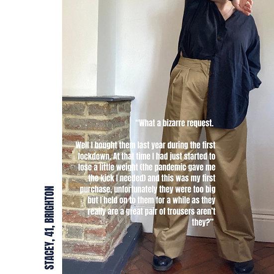 ARKET Wide Leg Trousers