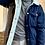 Thumbnail: MONKI Shearling Denim Jacket